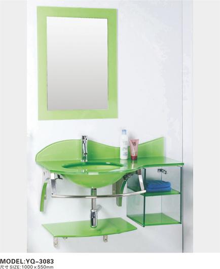 Artesanato Verefazer ~ Armário de banheiro de vidro (YQ 3083) u2013Armário de banheiro de vidro (YQ 3083) fornecido