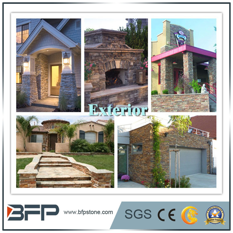 건축 돌 물자 - 마루, 벽 장식을%s 자연적인 돌 슬레이트 도와에 ...