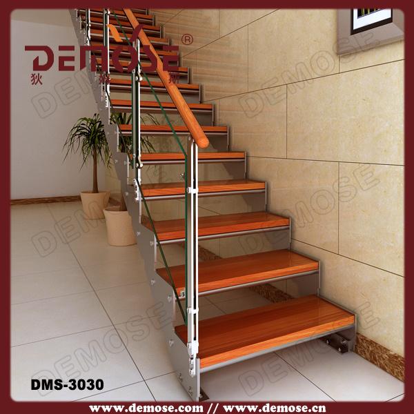 Estilo interno das escadas de madeira dms 3030 estilo - Pasamanos de escaleras interiores ...
