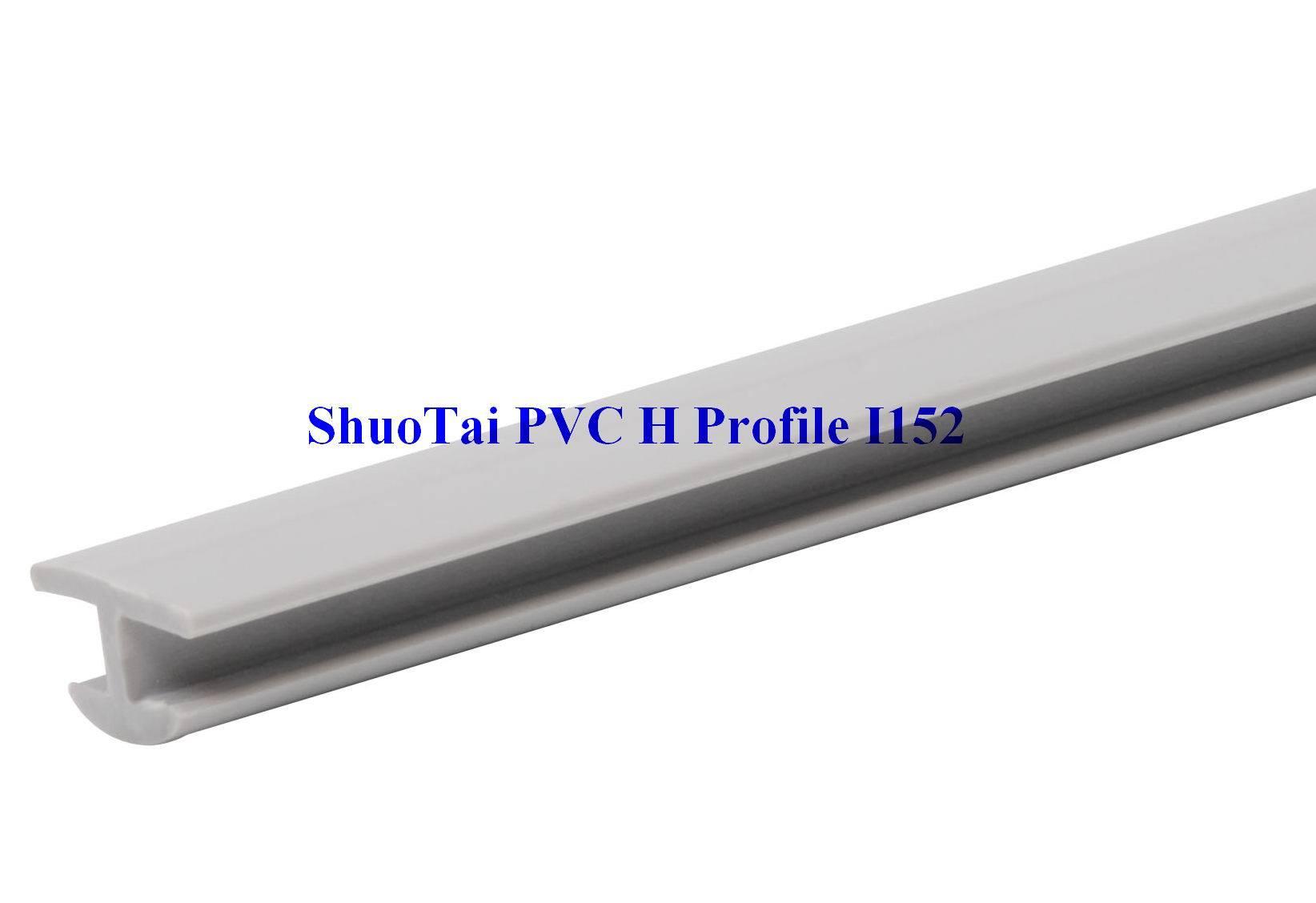 Perfil do pvc h para placas e vidro da terra arrendada for Perfiles pvc para aberturas