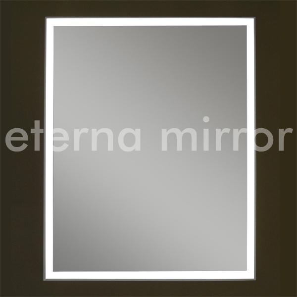 Espejo iluminado led enmarcado aluminio espejo iluminado led enmarcado aluminio proporcionado - Aluminio espejo ...