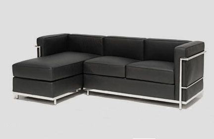 De bank bauhaus 2 grand confort l van de hoek van meridienne de bank bauhaus 2 grand confort - Sofa van de hoek uitstekende ...