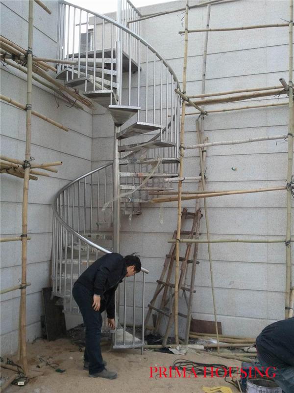 Staibless acero exterior escalera de caracol pr s06 - Escalera de caracol exterior ...