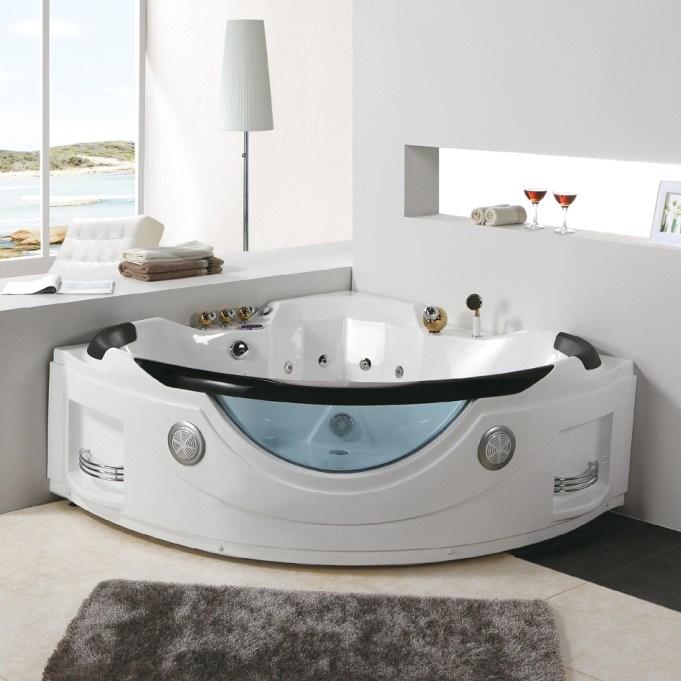 Tubo acrilico di lusso del bagno di massaggio del for Bagno padronale di lusso