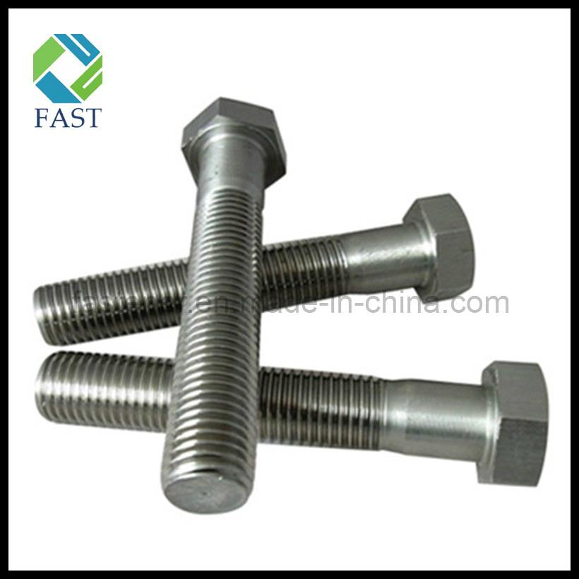 De acero inoxidable de cabeza hexagonal tornillo din933 - Tornillos de acero inoxidable ...