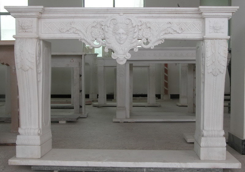 Foto de chimenea de interior decorativa del m rmol de la - Piedra decorativa interior ...