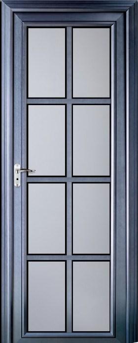 Puerta de aluminio del cuarto de ba o bcr a 3101 for Puertas de aluminio para cuartos