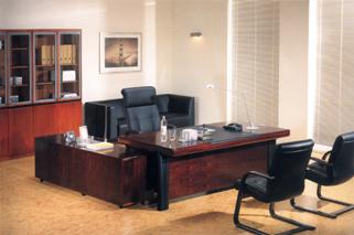 Escritorio ejecutivo de la oficina de madera de alta for Decoracion de oficinas ejecutivas
