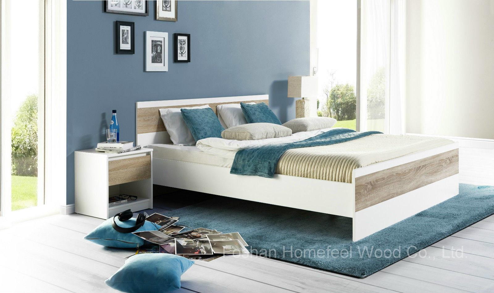 Ensemble de chambre à coucher laqué blanc moderne (hf ey08061 ...