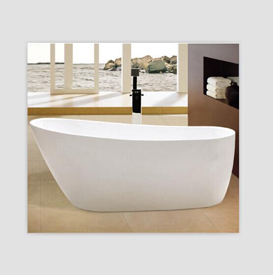 Stehende Badewanne kbis cupc dünne rand acrylsauerordnungs freie stehende badewanne foto auf de made in china com
