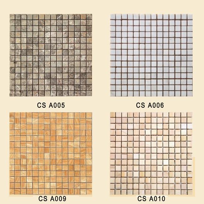 Azulejos Baño Tipo Mosaico:Azulejos de mosaico de piedra para la pared y el piso (PAGE2-A