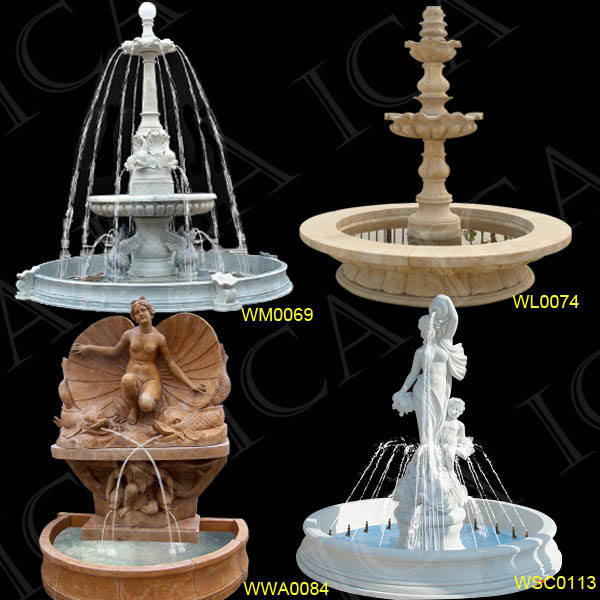 Fuente de m rmol escultura de la fuente fuente de m rmol - Fuentes de marmol para jardin ...