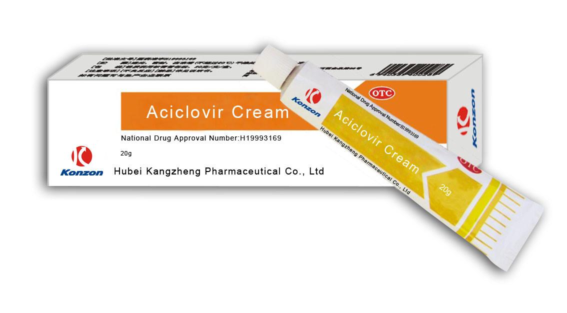 aciclovir crema componentes