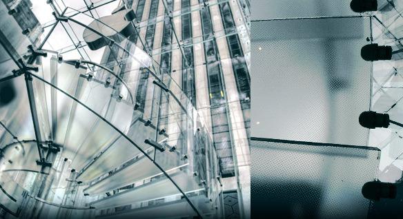 Pasamanos de cristal de la escalera kx 01 pasamanos de - Pasamanos de cristal ...