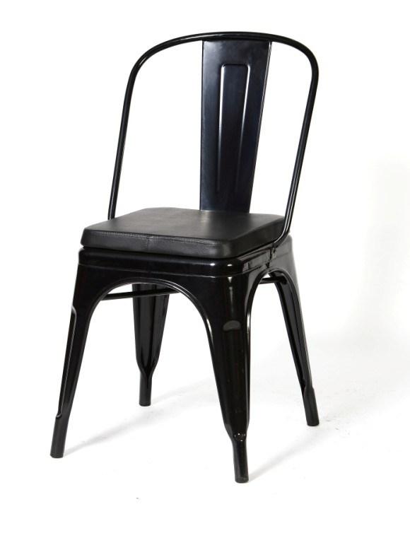 chaise en m tal de marais tolix avec le coussin xd 445f chaise en m tal de marais tolix avec le. Black Bedroom Furniture Sets. Home Design Ideas