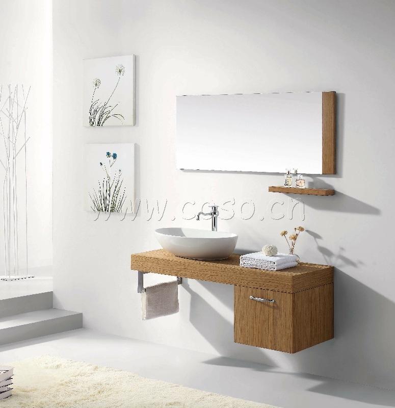 Module de salle de bains en bois cologique ew1321 module for Module salle de bain
