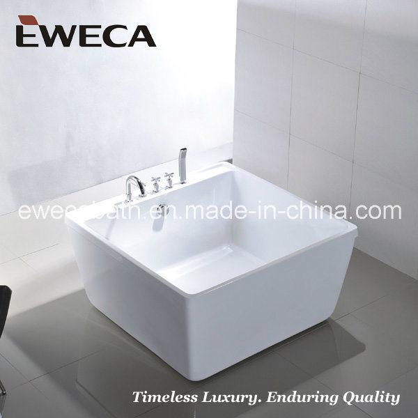 Trendy piccola vasca da bagno quadrata ew u piccola vasca - Vasca da bagno piccola misure ...