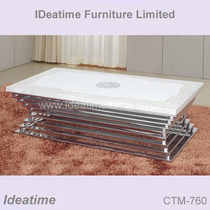 Mesa de centro casera del m rmol de los muebles ctm 760 mesa de centro casera del m rmol de Xinlan home furniture limited