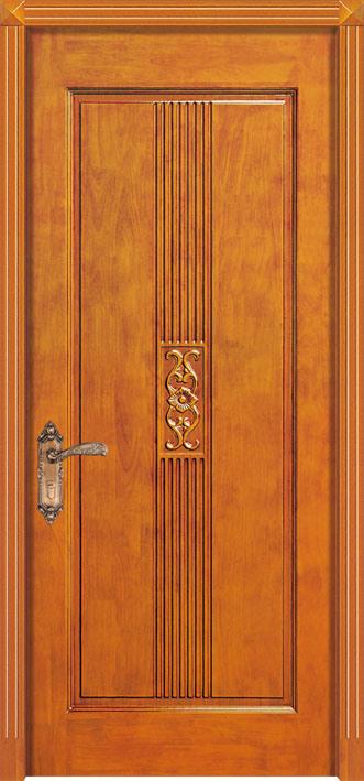 Puertas handcrafted de madera s lida para los cuartos for Puertas originales madera