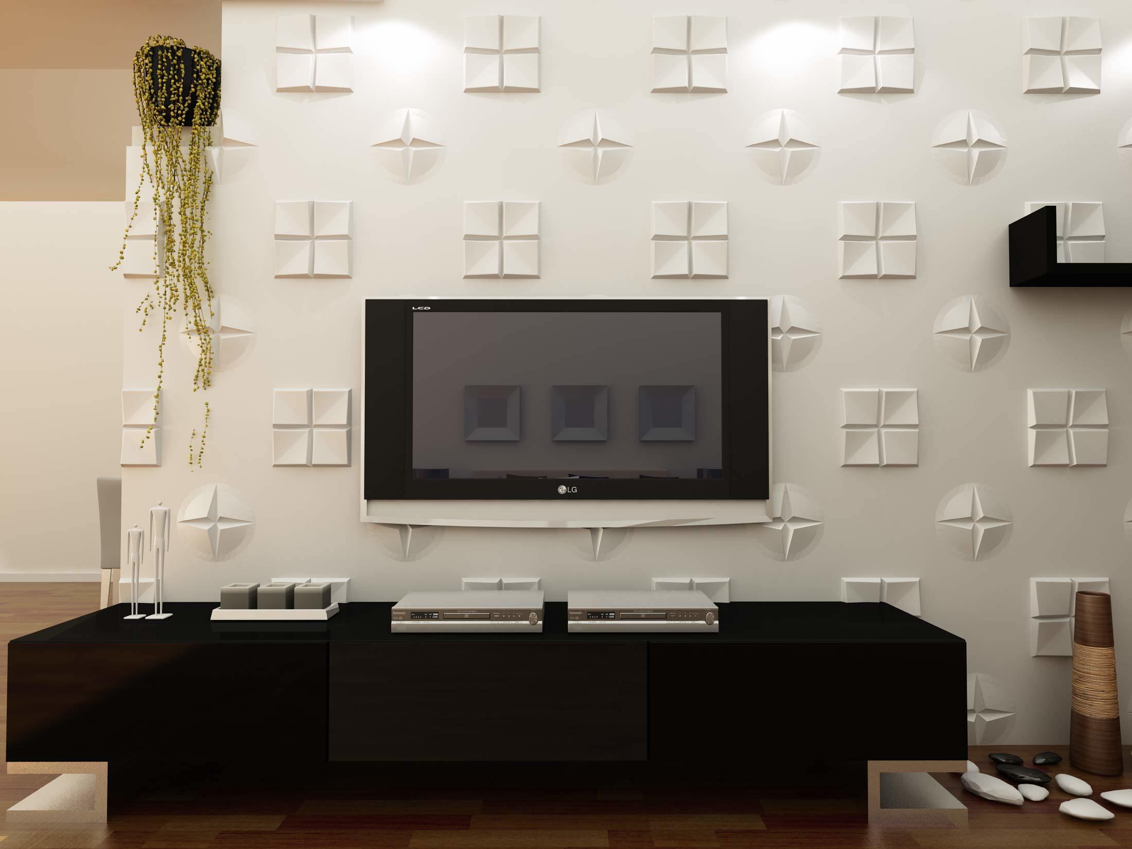 paneles d acsticos para interior decorativo de pared moderna