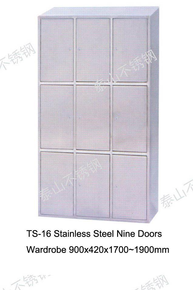 casier d 39 acier inoxydable ts 16 casier d 39 acier. Black Bedroom Furniture Sets. Home Design Ideas