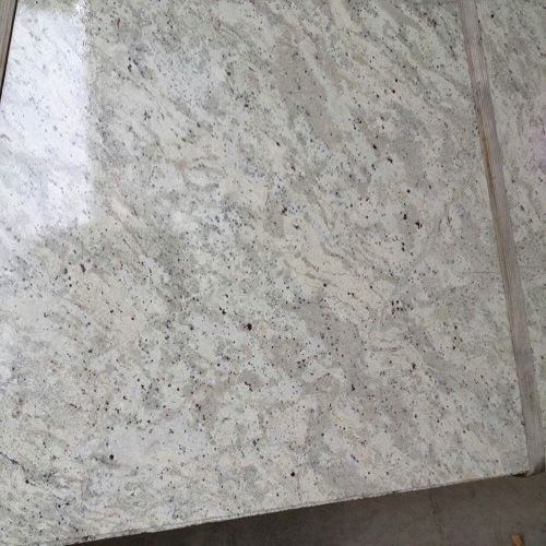 Foto de natural de piedra granito andromeda piso blanco for Granito natural blanco
