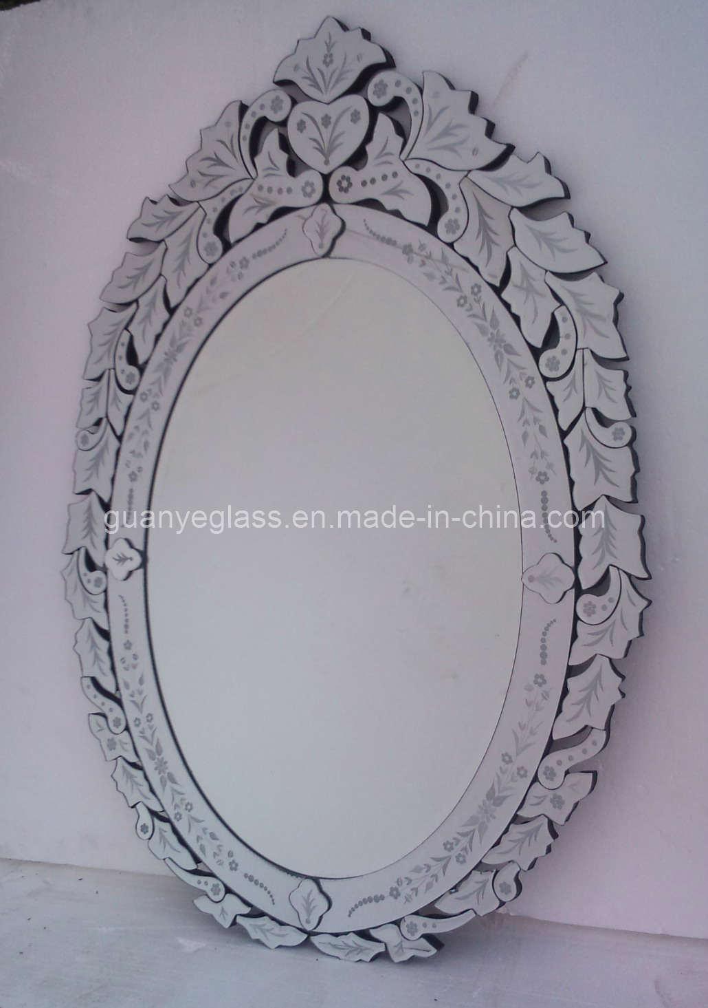 Disegno veneziano che veste lo specchio della parete (GJ016 ...