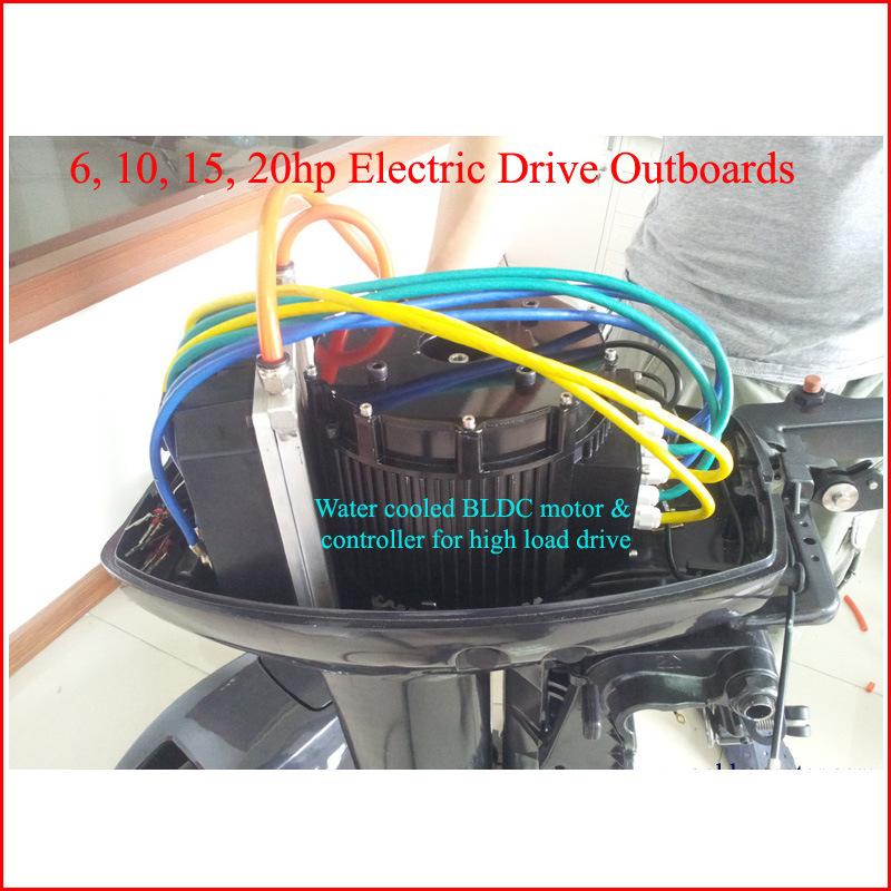 Electric Outboard Motor Kit: Jogo Externo Da Conversão Do Barco Do Barco Elétrico Kits