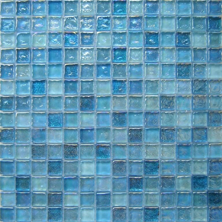 Azulejo de mosaico de cristal cuadrado dfh2002 azulejo - Azulejos de cristal ...