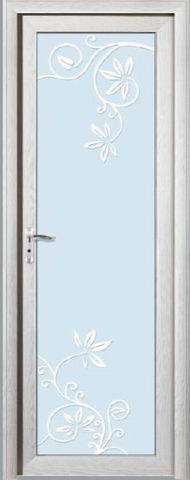 Puerta de aluminio del cuarto de ba o bcr a 3172 for Puertas de aluminio para cuartos