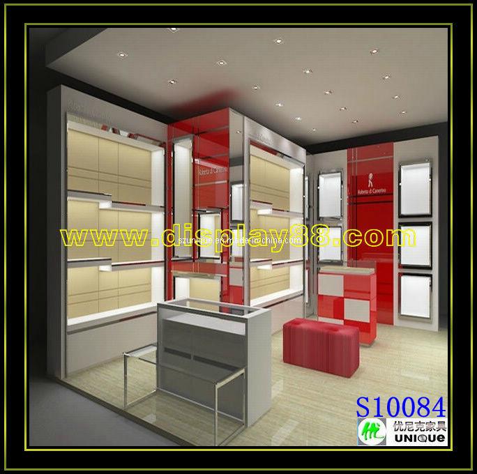 Muebles para el almacén de ropa/el gabinete del escaparate de la ropa (S10084...