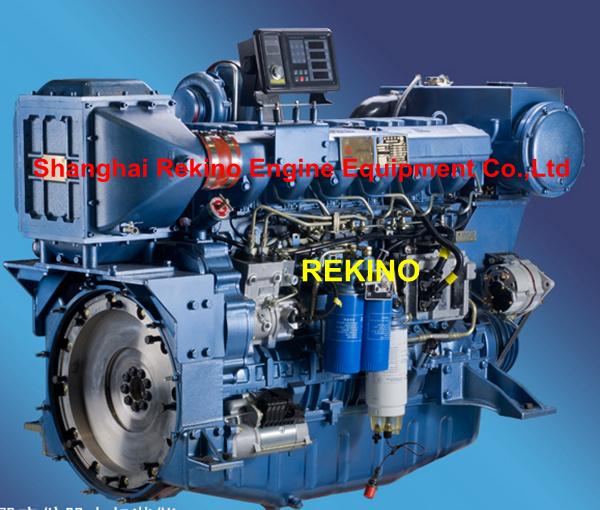 400hp Weichai Marine Diesel Boat Motor Engine Wp12c400 18