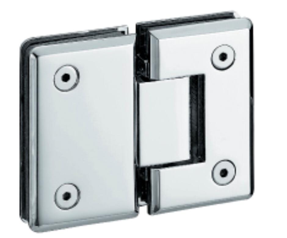 Charni re de porte en verre de douche en laiton rotative for Charniere porte de douche