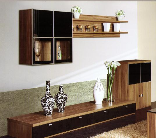 Muebles de la sala de estar pared de la tv 2039 - Muebles de salita de estar ...