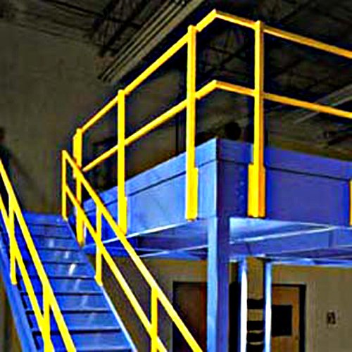 mezzanine het rek van het platform van het metaal mezzanine het rek van het platform van het