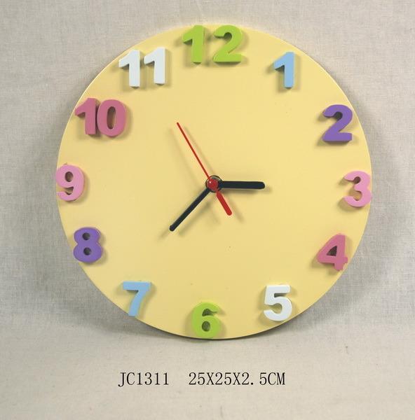 Relojes de pared para ni os - Manualidades relojes infantiles ...
