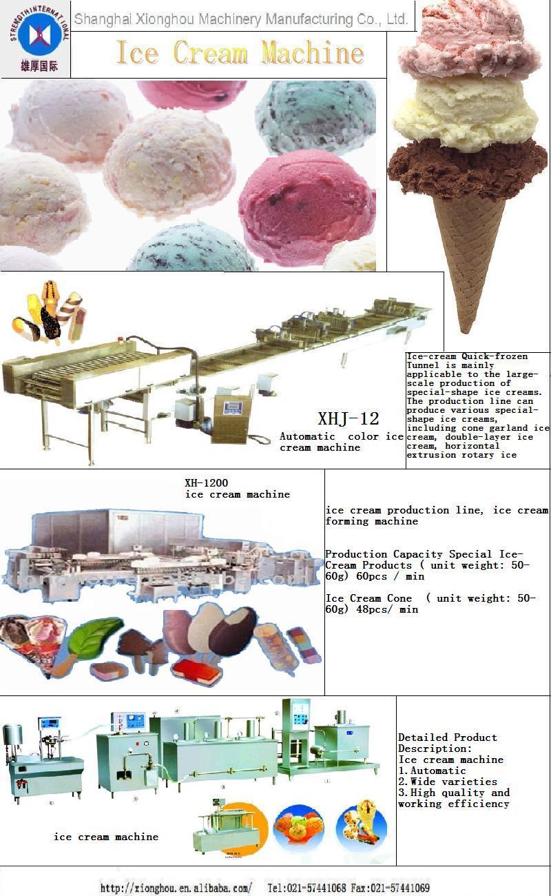 Оборудование для изготовления мороженой продукция