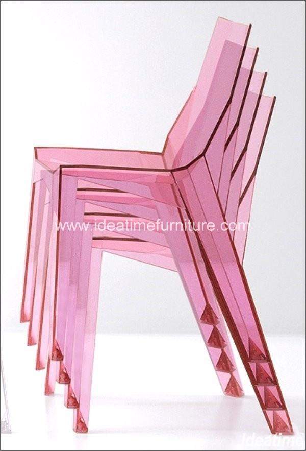 Silla de acr lico moderna cm 370 silla de acr lico for Sillas de acrilico