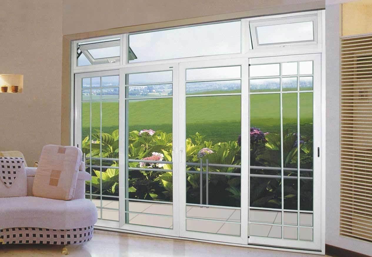 Porte coulissante ext rieure d 39 aluminium asd012 porte for Porte vitree coulissante exterieure