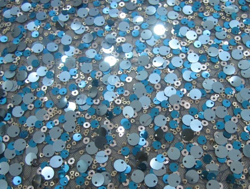 Tissu color de broderie de sequin pour le v tement d 39 enfants hm5120 t - Tissus bohemes colores ...