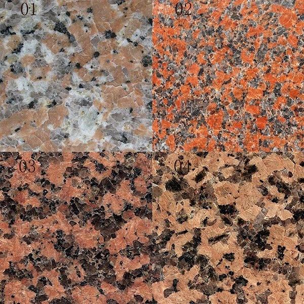 Losa roja del granito del arce barato para la decoraci n for Granito barato precio
