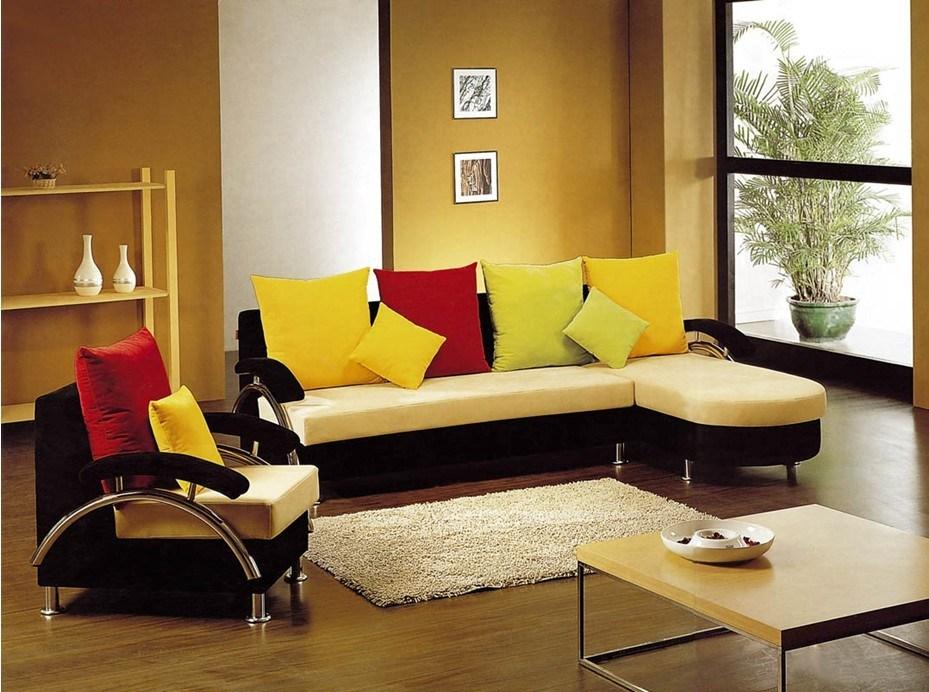 Meubles de salle de s jour sofa moderne de tissu de for Decoration de salle de sejour