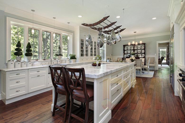 di legno degli armadi da cucina di legno solido degli armadi da cucina