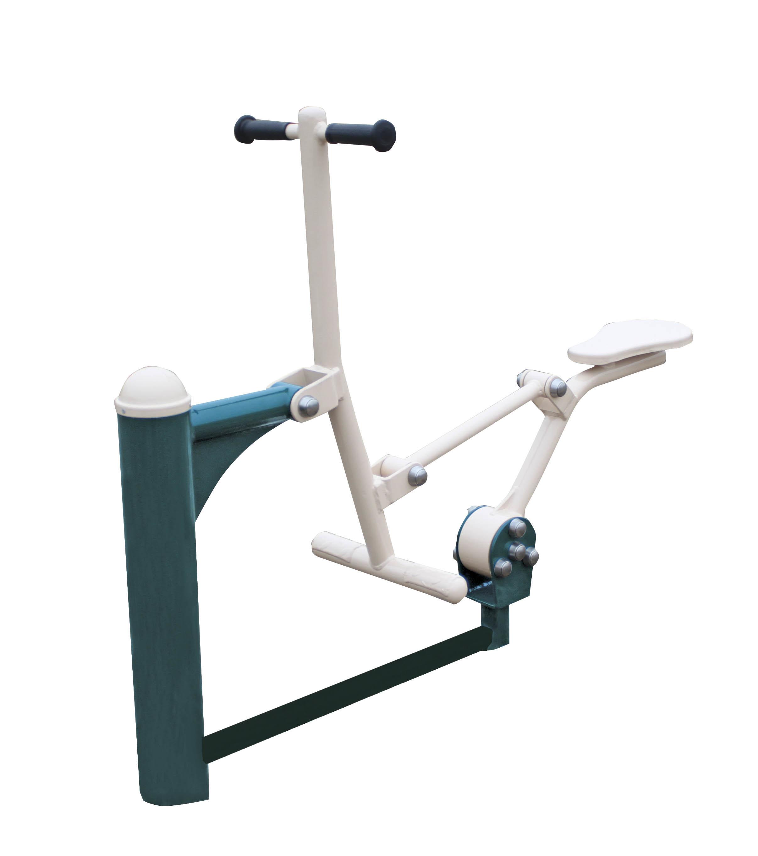Foto de aparatos para hacer ejercicio al aire libre doble for Aparatos de ejercicio