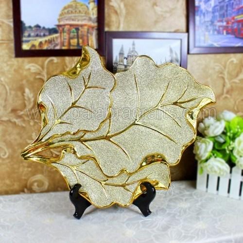 De moderne plateren berijpte vaas van de keramiek voor de decoratie van het huis de moderne - Decoratie eenvoudig voor het leven ...