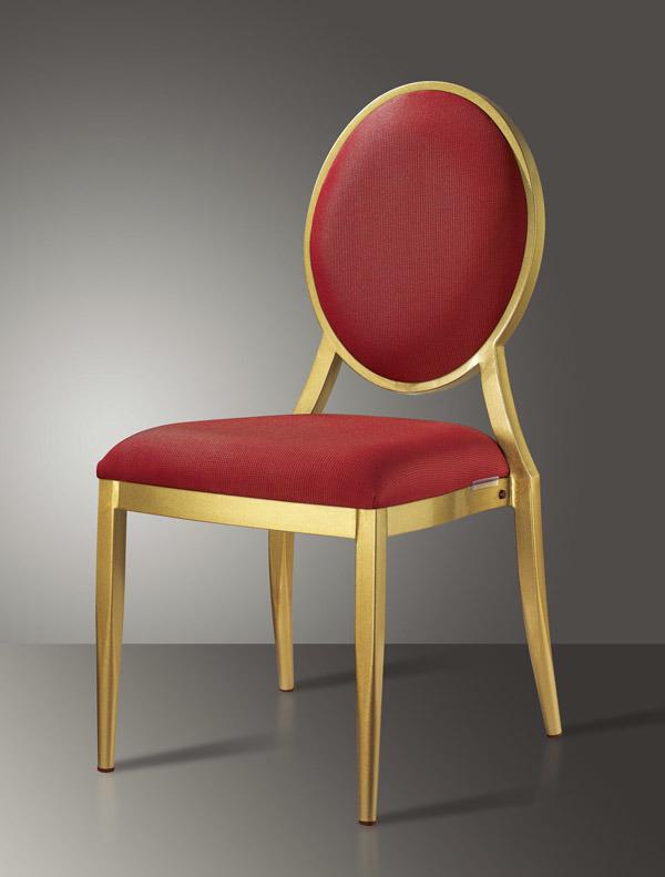De gouden stoel van banqet van het restaurant van het kussen van het frame rode de gouden - Stoel rode huis van de wereld ...