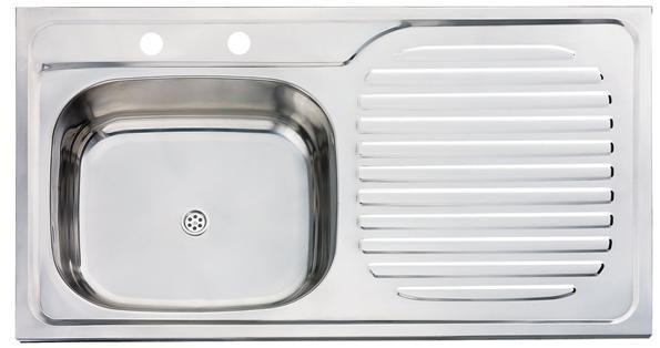 Fregadero de cocina del fregadero del acero inoxidable - Modelos de fregaderos ...
