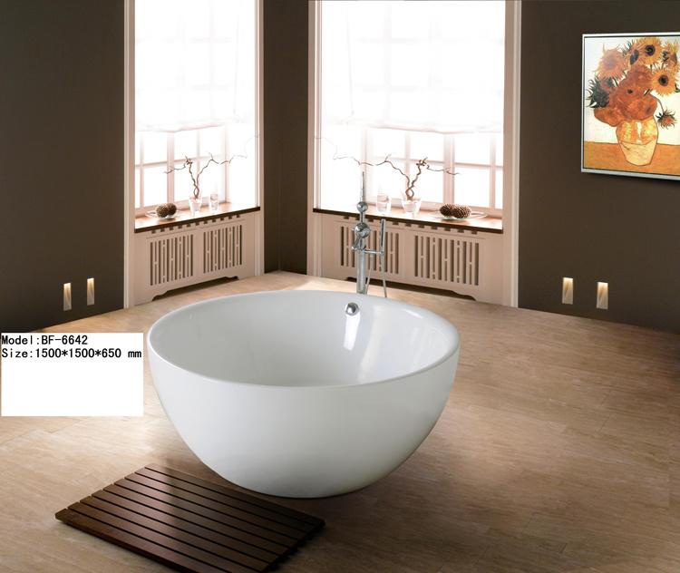 Vasca da bagno di shap della ciotola vasca da bagno di - Vasca da bagno circolare ...