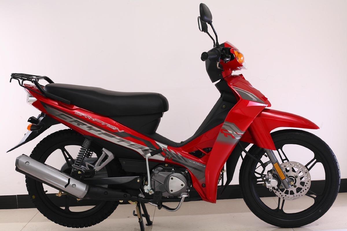 Foto de nueva cub motocicleta vespa yamaha crypton 110cc for Yamaha motorcycles made in china