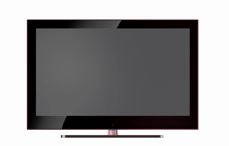 Adelgazar el ltimo dise o la pantalla plana tv del lcd de - Television pequena plana ...